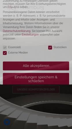 Vorschau der mobilen Webseite www.hrd-hamburg.de, Beratergruppe HRD-Hamburg