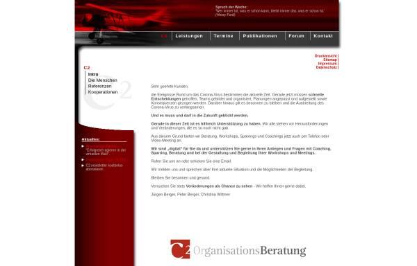 Vorschau von www.c2-beratung.de, C2 Gesellschaft für OrganisationsBeratung GbR