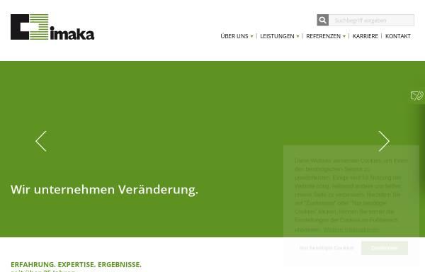 Vorschau von www.imaka.de, Imaka, Institut für Management GmbH