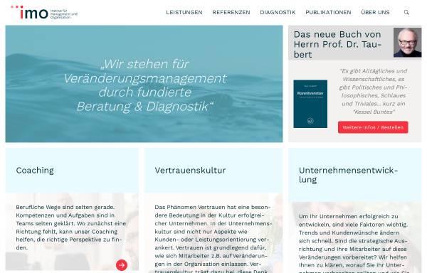 Vorschau von www.imo-bochum.de, IMO, Institut für Management und Organisation GmbH