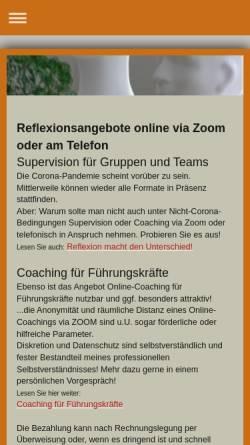 Vorschau der mobilen Webseite www.tango-kommunikation.de, Tango - Büro für Kommunikation