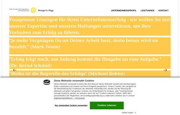 Vorschau von www.wengelundhipp.de, Wengel und Hipp