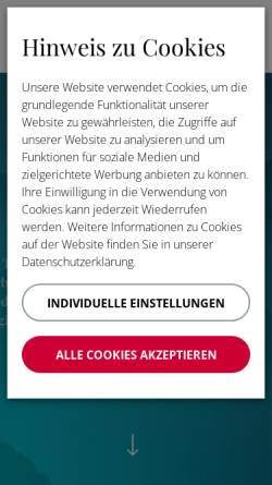 Vorschau der mobilen Webseite gtc-gmbh.com, GTC Ghidelli Training & Coaching GmbH