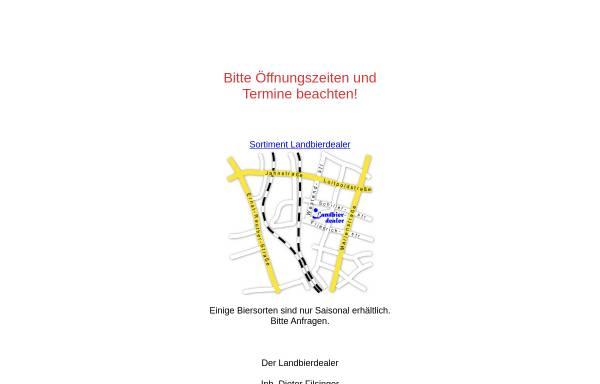 Vorschau von www.landbierdealer.de, Landbierdealer, Inhaber: Reiner Weiß