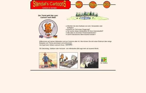 Vorschau von www.winternet.de, Stendal`s Cartoons, Inh. Alexander Stendal