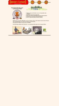 Vorschau der mobilen Webseite www.winternet.de, Stendal`s Cartoons, Inh. Alexander Stendal