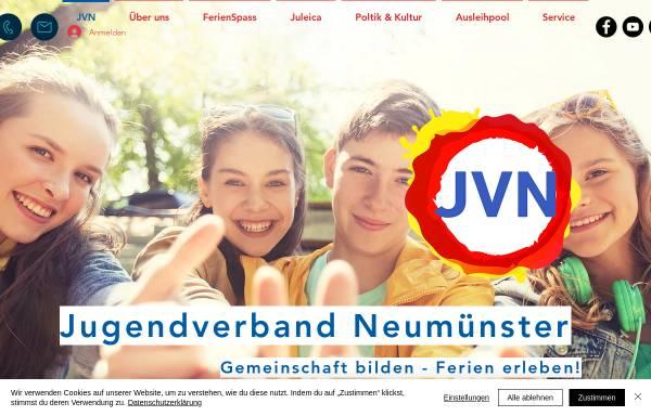 Vorschau von jvn.de, Jugendverband Neumünster e. V.