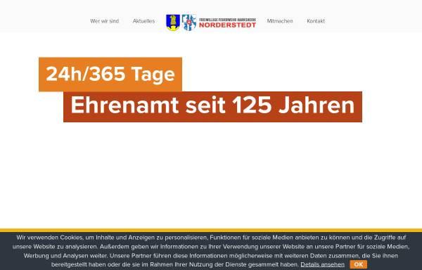 Vorschau von www.feuerwehr-harksheide.de, Freiwillige Feuerwehr Harksheide