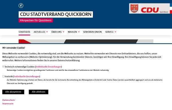 Vorschau von www.cdu-quickborn.de, CDU Quickborn