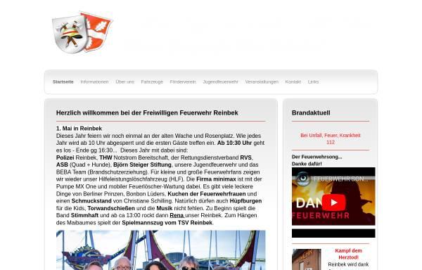 Vorschau von www.ff-reinbek.de, Feuerwehr Reinbek