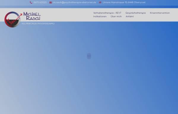 Vorschau von www.psychotherapie-oberursel.de, Praxis für Psychotherapie (HPG) Michael Rasch