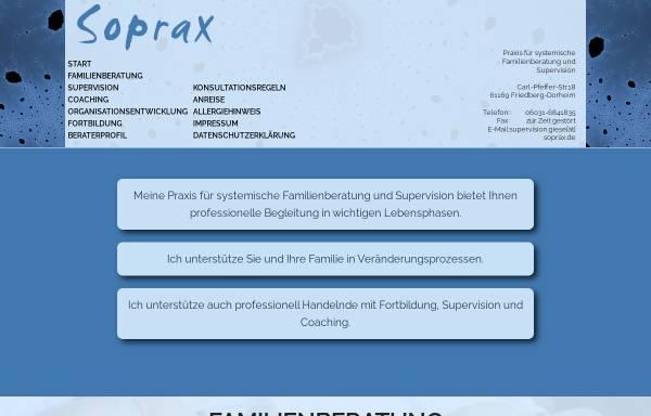 Vorschau von www.soprax.de, Sonderpädagogische Praxis