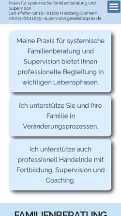 Vorschau der mobilen Webseite www.soprax.de, Sonderpädagogische Praxis