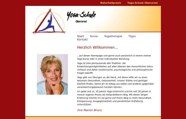Vorschau von www.yogaschule-oberursel.de, Yoga-Schule Oberursel