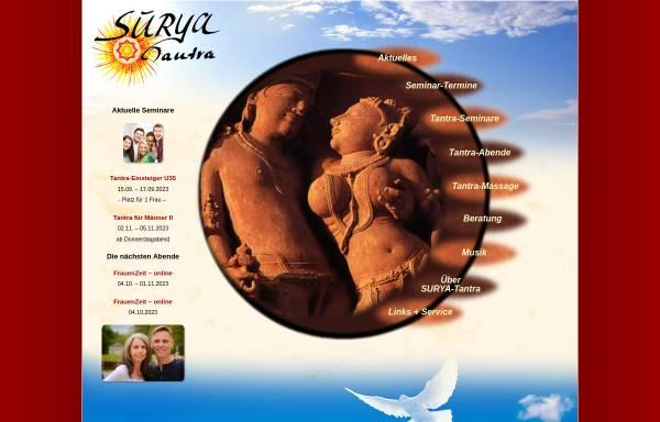Vorschau von www.surya-tantra.de, Surya-Tantra