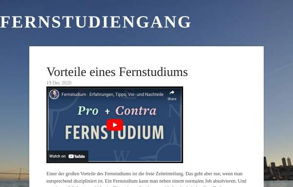 Vorschau von www.fern-studiengang.de, Fern-Studiengang.de