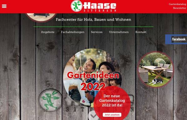Vorschau von www.holz-haase.de, Haase
