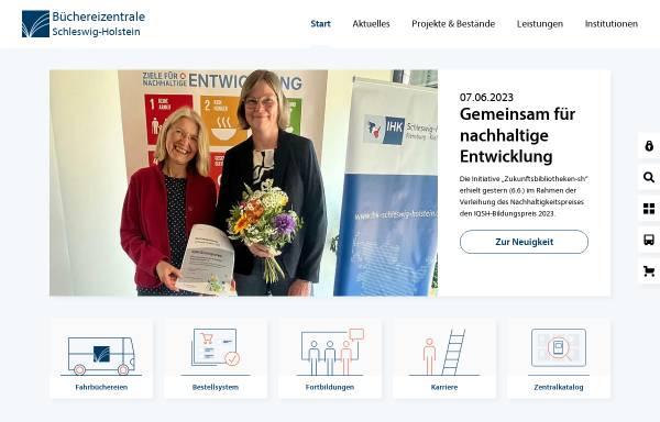 Vorschau von www.bz-sh.de, Büchereizentrale Schleswig-Holstein