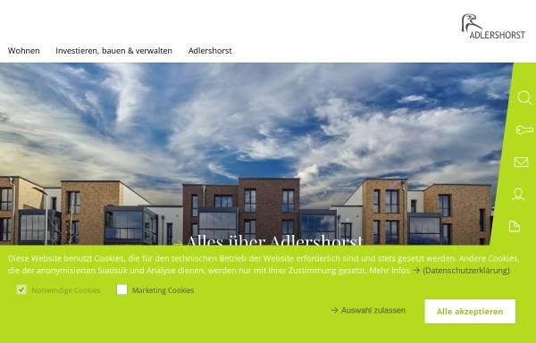 Vorschau von www.adlershorst.de, Adlerhorst Baugenossenschaft eG