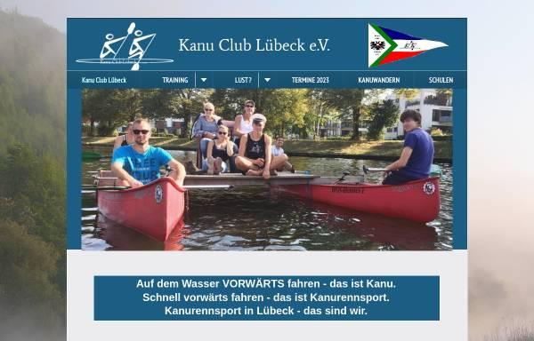 Vorschau von www.kclev.de, Kanu Club Lübeck e.V.