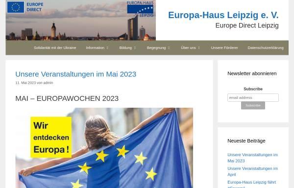 Vorschau von www.europa-haus-leipzig.de, Europa-Haus Leipzig