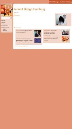 Vorschau der mobilen Webseite www.kinderschminken-hamburg.de, Kinderschminken-Hamburg, Katrin Heuer