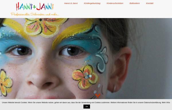 Vorschau von www.schminkshow.de, Schminkshow, Marianne Ohlenschläger