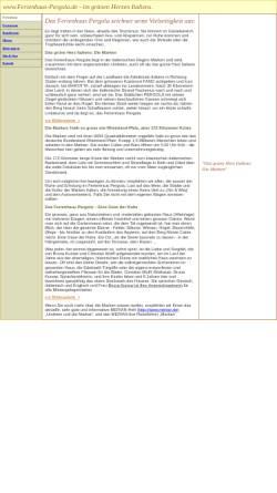 Vorschau der mobilen Webseite www.ferienhaus-pergola.de, Ferienhaus-Pergola