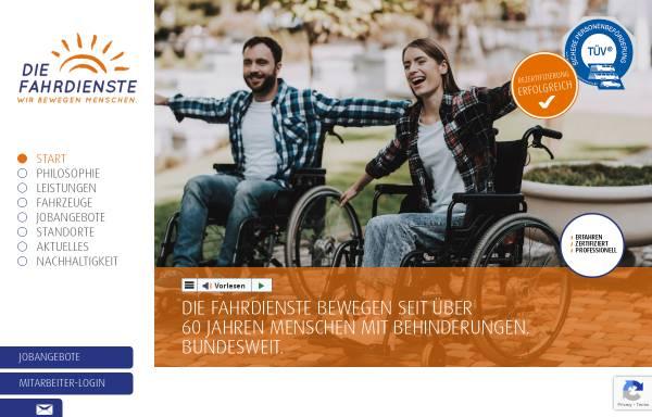 Vorschau von www.diefahrdienste.de, Die Fahrdienste