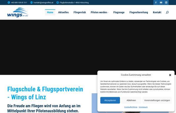 Vorschau von www.wingsoflinz.at, Wings of Linz