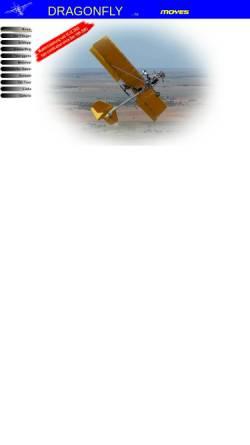 Vorschau der mobilen Webseite www.dragonfly-germany.de, Dragonfly