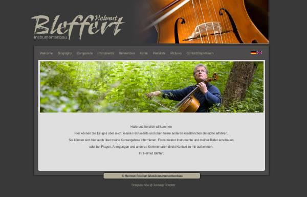 Vorschau von www.helmut-bleffert.de, Helmut Bleffert
