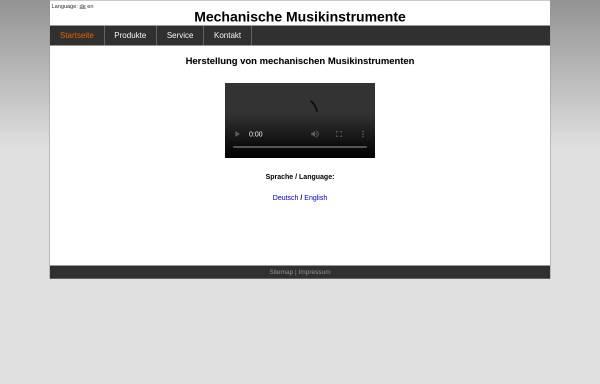 Vorschau von www.ziehorgel.de, Thüringer Musikantenschmiede
