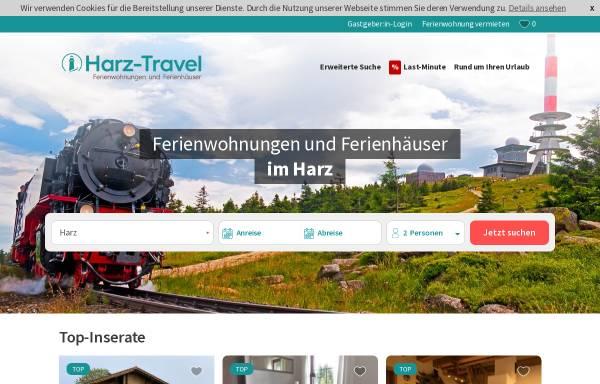 Vorschau von www.harz-travel.de, Harz-Travel