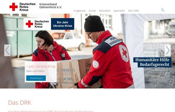 Vorschau von www.drk-delmenhorst.de, DRK Delmenhorst