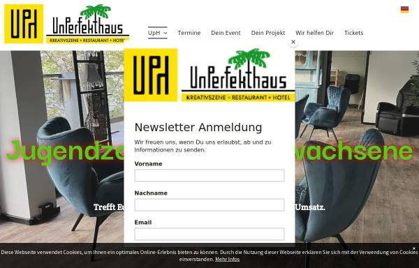 Vorschau von www.unperfekthaus.de, Unperfekthaus, Inhaber Reinhard Wiesemann