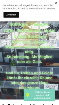 Vorschau der mobilen Webseite www.unperfekthaus.de, Unperfekthaus, Inhaber Reinhard Wiesemann
