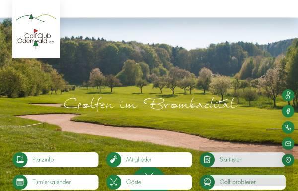 Vorschau von www.golfclub-odenwald.de, Golfclub Odenwald