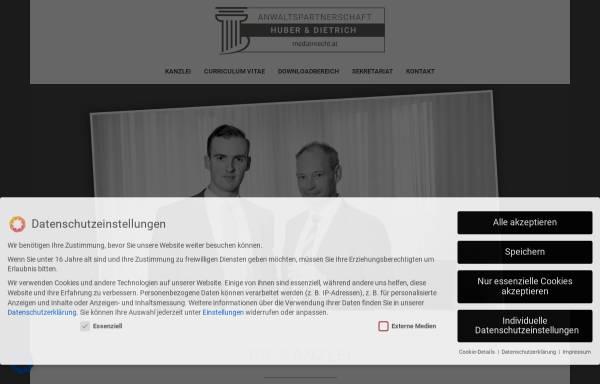 Vorschau von medizinrecht.at, Anwaltspartnerschaft Pitzl & Huber