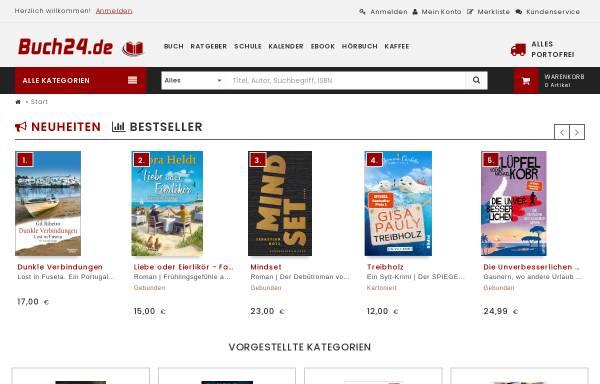 Vorschau von www.buch24.de, Buch24 GmbH