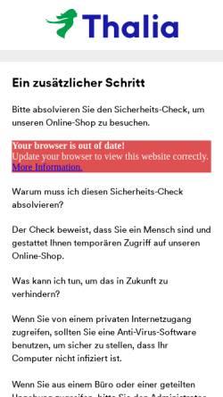 Vorschau der mobilen Webseite www.buch.de, Buch.de internetstores AG
