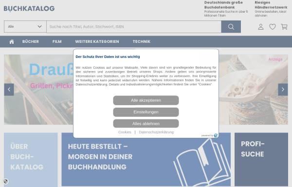 Vorschau von www.buchkatalog.de, Buchkatalog-Koch, Neff & Oetinger & Co. GmbH