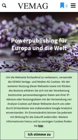Vorschau der mobilen Webseite www.honos-verlag.de, Honos Verlag GmbH