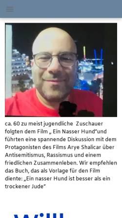 Vorschau der mobilen Webseite dig-aachen.de, Deutsch-Israelische-Gesellschaft Aachen e.V. (DIG)
