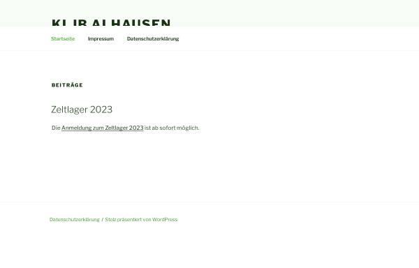 Vorschau von www.kljb-alhausen.de, KLJB Alhausen