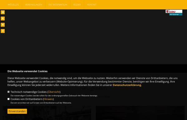 Vorschau von www.cdu-bl.de, CDU-Stadtverband Bad Lippspringe