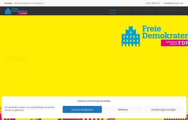 Vorschau von www.fdp-beckum.de, FDP Beckum