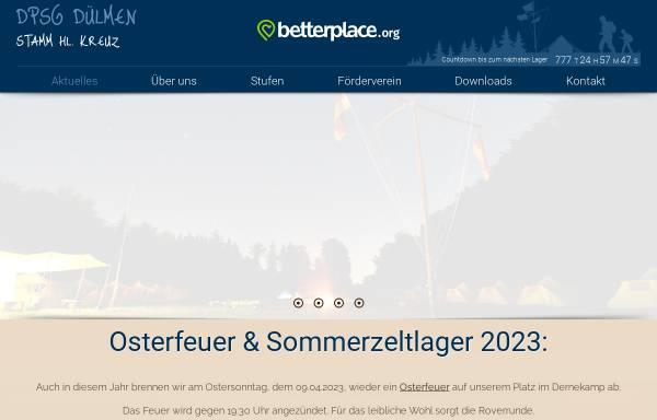 Vorschau von www.dpsg-duelmen.de, DPSG Stamm Hl. Kreuz Dülmen