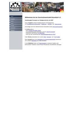 Vorschau der mobilen Webseite www.geschichtswerkstatt-duesseldorf.de, Geschichtswerkstatt Düsseldorf