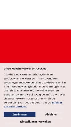 Vorschau der mobilen Webseite www.spd-greven.de, SPD Greven